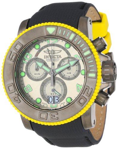 インビクタ 時計 インヴィクタ メンズ 腕時計 Invicta Men's 10713 Sea Hunter Pro Diver Chronograph Silver Grey Dial Black Nylon Watch インビクタ 時計 インヴィクタ メンズ 腕時計 Invicta Men's 10713 Sea Hunter Pro Diver Chronograph Silver Grey Dial Black Nylon Watch