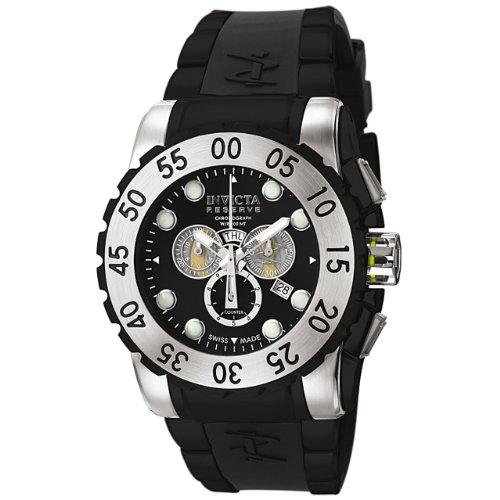 インビクタ 時計 インヴィクタ メンズ 腕時計 Invicta Men's 6660 Reserve Collection Leviathan Chronograph Black Polyurethane Watch インビクタ 時計 インヴィクタ メンズ 腕時計 Invicta Men's 6660 Reserve Collection Leviathan Chronograph Black Polyurethane Watch