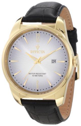 インビクタ 時計 インヴィクタ メンズ 腕時計 Invicta Men's 11739 Vintage Silver Dial Black Leather Watch インビクタ 時計 インヴィクタ メンズ 腕時計 Invicta Men's 11739 Vintage Silver Dial Black Leather Watch