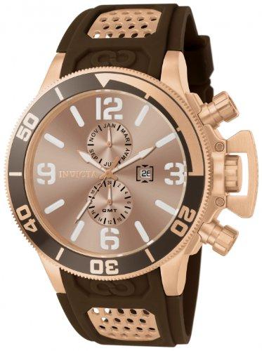 インビクタ 時計 インヴィクタ メンズ 腕時計 Invicta Men's 80312 Corduba Gold Dial Brown Polyurethane Watch インビクタ 時計 インヴィクタ メンズ 腕時計 Invicta Men's 80312 Corduba Gold Dial Brown Polyurethane Watch