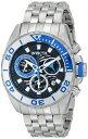 インビクタ 時計 インヴィクタ メンズ 腕時計 Invicta Men's 14724 Pro Diver Analog Display Swiss Quartz Silver Watch