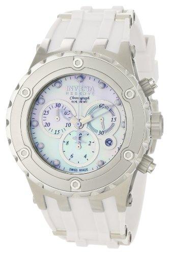 インビクタ 時計 インヴィクタ メンズ 腕時計 Invicta Men's 0523 Reserve Collection Specialty Chronograph Midsize White Polyurethane Watch インビクタ 時計 インヴィクタ メンズ 腕時計 Invicta Men's 0523 Reserve Collection Specialty Chronograph Midsize White Polyurethane Watch
