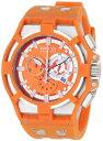 インビクタ 時計 インヴィクタ メンズ 腕時計 Invicta Men's 0635 Reserve Collection Akula Chronograph Orange Dial Orange Polyurethane Watch