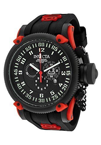 インビクタ 時計 インヴィクタ メンズ 腕時計 Invicta Men's 10179 Russian Diver Chronograph Black Dial Black Silicone Watch インビクタ 時計 インヴィクタ メンズ 腕時計 Invicta Men's 10179 Russian Diver Chronograph Black Dial Black Silicone Watch