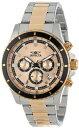 インビクタ 時計 インヴィクタ メンズ 腕時計 Invicta Men's 12456 Pro Diver Chronograph Gold Tone Dial Two Tone Stainless Steel Watch