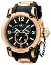 インビクタ 時計 インヴィクタ メンズ 腕時計 Invicta Men's Russian Diver Quartz Chronograph Retrograde Rubber Strap Watch 5669