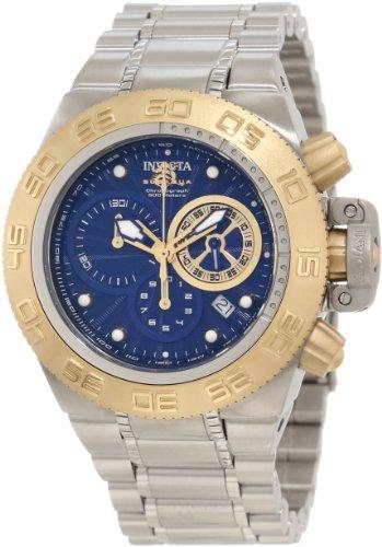 インビクタ 時計 インヴィクタ JC Toys メンズ 腕時計 Invicta ベスタル Men's ラブ 10147 Subaqua Noma IV Chronograph Blue Textured Dial Watch:i-selection インビクタ 時計 インヴィクタ メンズ 腕時計 Invicta Men's 10147 Subaqua Noma IV Chronograph Blue Textured Dial Watch