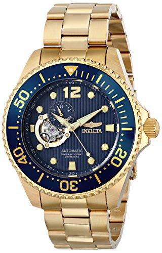 """インビクタ 時計 インヴィクタ メンズ 腕時計 Invicta Men's 15393 """"Pro Diver"""" 18k Gold Ion-Plated Watch インビクタ 時計 インヴィクタ メンズ 腕時計 Invicta Men's 15393 """"Pro Diver"""" 18k Gold Ion-Plated Watch"""