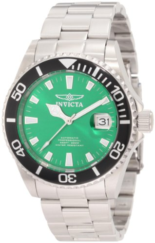 インビクタ 時計 インヴィクタ メンズ 腕時計 Invicta Men's 1000 Pro Diver Automatic Green Dial Stainless Steel Watch インビクタ 時計 インヴィクタ メンズ 腕時計 Invicta Men's 1000 Pro Diver Automatic Green Dial Stainless Steel Watch