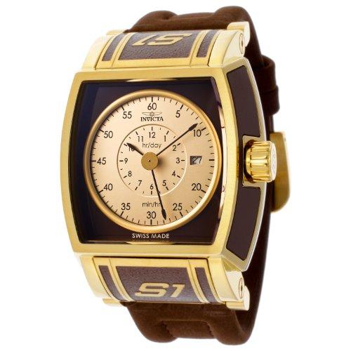 インビクタ 時計 インヴィクタ メンズ 腕時計 Invicta Men's 12598 S1 Rally Brown and Gold Dial Brown Polyurethane Watch インビクタ 時計 インヴィクタ メンズ 腕時計 Invicta Men's 12598 S1 Rally Brown and Gold Dial Brown Polyurethane Watch【ショッピング】