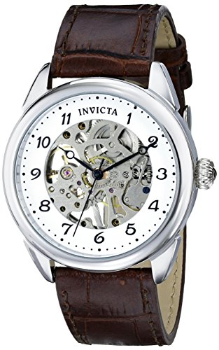 インビクタ 時計 インヴィクタ メンズ 腕時計 Invicta Men's 17187 Specialty Analog Display Mechanical Hand Wind Brown Watch インビクタ 時計 インヴィクタ メンズ 腕時計 Invicta Men's 17187 Specialty Analog Display Mechanical Hand Wind Brown Watch