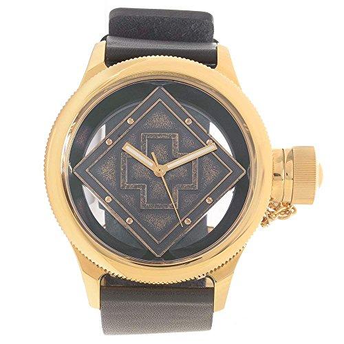 インビクタ 時計 インヴィクタ メンズ 腕時計 Invicta Russian Diver Transparent Dial Black Leather Mens Watch 14775 インビクタ 時計 インヴィクタ メンズ 腕時計 Invicta Russian Diver Transparent Dial Black Leather Mens Watch 14775