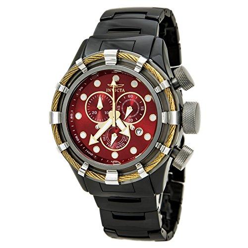 インビクタ 時計 インヴィクタ メンズ 腕時計 Invicta 13847 Men's Bolt Sport Chronograph Red Dial Black Ceramic Bracelet Watch インビクタ 時計 インヴィクタ メンズ 腕時計 Invicta 13847 Men's Bolt Sport Chronograph Red Dial Black Ceramic Bracelet Watch レガントな色