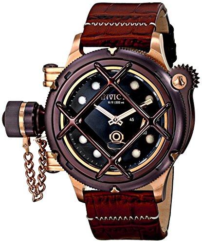 インビクタ 時計 インヴィクタ メンズ 腕時計 Invicta Men's 16171 Russian Diver Analog Display Mechanical Hand Wind Brown Watch インビクタ 時計 インヴィクタ メンズ 腕時計 Invicta Men's 16171 Russian Diver Analog Display Mechanical Hand Wind Brown Watch
