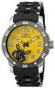 インビクタ 時計 インヴィクタ メンズ 腕時計 Invicta Mens Sea Spider Yellow Dial Gunmetal IP Stainless Steel & Polyurethane Watch 80105