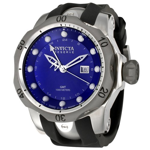 インビクタ 時計 インヴィクタ メンズ 腕時計 Invicta Men's 6587 Reserve Collection GMT Black Rubber Watch インビクタ 時計 インヴィクタ メンズ 腕時計 Invicta Men's 6587 Reserve Collection GMT Black Rubber Watch
