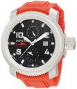 インビクタ 時計 インヴィクタ メンズ 腕時計 Invicta Men's 1984 Russian Diver Sea Hunter Black Dial Red Polyurethane Watch