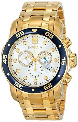 インビクタ 時計 インヴィクタ メンズ 腕時計 Invicta Men's 80067 Pro Diver Analog Display Swiss Quartz Gold Watch インビクタ 時計 インヴィクタ メンズ 腕時計 Invicta Men's 80067 Pro Diver Analog Display Swiss Quartz Gold Watch