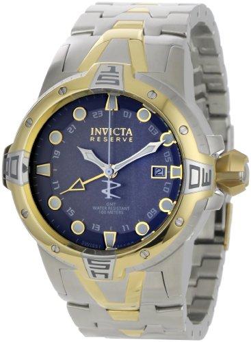 インビクタ 時計 インヴィクタ メンズ 腕時計 Invicta Men's 0650 Reserve Collection Sea Excursion GMT Light Grey Dial Two-Tone Stainless Steel Watch インビクタ 時計 インヴィクタ メンズ 腕時計 Invicta Men's 0650 Reserve Collection Sea Excursion GMT Light Grey Dial Two-Tone  Watch