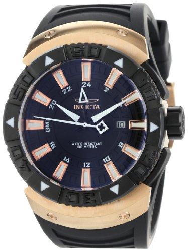 インビクタ 時計 インヴィクタ メンズ 腕時計 Invicta Men's 0667 II GMT Black Dial Polyurethane Watch インビクタ 時計 インヴィクタ メンズ 腕時計 Invicta Men's 0667 II GMT Black Dial Polyurethane Watch