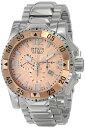 インビクタ 時計 インヴィクタ メンズ 腕時計 Invicta Men's 10890 Excursion Reserve Chronograph Rose Gold Tone Textured Dial Watch