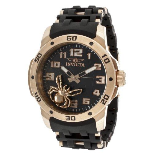 インビクタ 時計 インヴィクタ メンズ 腕時計 Invicta Men's 10297 Sea Spider Black Dial Black Polyurethane Watch インビクタ 時計 インヴィクタ メンズ 腕時計 Invicta Men's 10297 Sea Spider Black Dial Black Polyurethane Watch