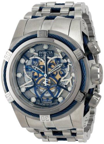 インビクタ 時計 インヴィクタ メンズ 腕時計 Invicta Men's 13751 Reserve Bolt Chronograph Perforated Dial Stainless Steel Watch インビクタ 時計 インヴィクタ メンズ 腕時計 Invicta Men's 13751 Reserve Bolt Chronograph Perforated Dial Stainless Steel Watch【古い】