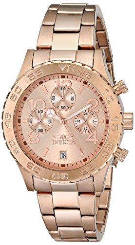 インビクタ 時計 インヴィクタ メンズ 腕時計 Invicta Men's 1280 II Collection Chronograph Rose Dial 18k Rose Gold Ion-Plated Stainless Steel Watch インビクタ 時計 インヴィクタ メンズ 腕時計 Invicta Men's 1280 II Collection Chronograph Rose Dial 18k Rose Gold Ion-Plated  Watch