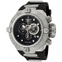 インビクタ 時計 インヴィクタ メンズ 腕時計 Invicta Men's 6576 Subaqua Noma IV Chronograph Black Polyurethane Watch