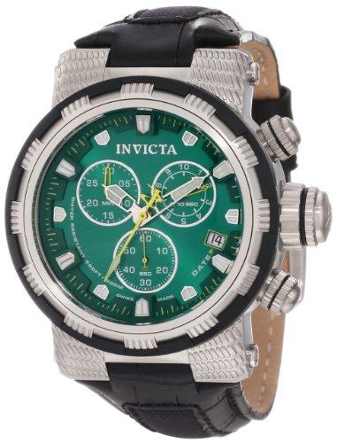 インビクタ 時計 インヴィクタ メンズ 腕時計 Invicta Men's 11231 Reserve Chronograph Green Dial Black Leather Watch インビクタ 時計 インヴィクタ メンズ 腕時計 Invicta Men's 11231 Reserve Chronograph Green Dial Black Leather Watch