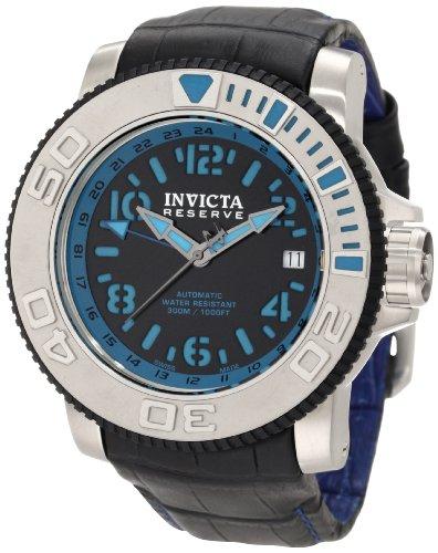 インビクタ 時計 インヴィクタ メンズ 腕時計 Invicta Men's 1130 Reserve Automatic Black Dial Black Leather Watch インビクタ 時計 インヴィクタ メンズ 腕時計 Invicta Men's 1130 Reserve Automatic Black Dial Black Leather Watch