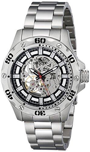 インビクタ 時計 インヴィクタ メンズ 腕時計 Invicta Men's 15228 Specialty Analog Display Mechanical Hand Wind Silver Watch インビクタ 時計 インヴィクタ メンズ 腕時計 Invicta Men's 15228 Specialty Analog Display Mechanical Hand Wind Silver Watch
