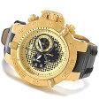 インビクタ 時計 インヴィクタ メンズ 腕時計 Invicta 80663 Mens 50mm Subaqua Noma III Swiss Chronograph Mother-of-Pearl Dial Leather Strap Watch