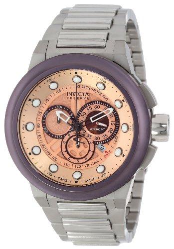 インビクタ 時計 インヴィクタ メンズ 腕時計 Invicta Men's 14304 Reserve Chronograph Rose Gold Tone Dial Stainless Steel Watch インビクタ 時計 インヴィクタ メンズ 腕時計 Invicta Men's 14304 Reserve Chronograph Rose Gold Tone Dial Stainless Steel Watch