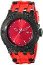 インビクタ 時計 インヴィクタ メンズ 腕時計 Invicta Men's 12051 Subaqua Reserve Red Dial Red Rubber Watch