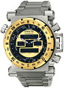 インビクタ 時計 インヴィクタ メンズ 腕時計 Invicta Men's 13074 Coalition Forces AnalogDigital SwissQuartz Silver Watch