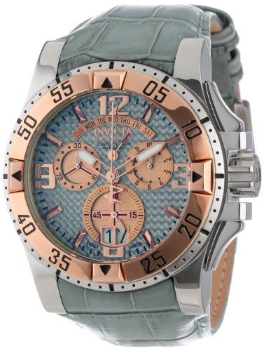 インビクタ 時計 インヴィクタ メンズ 腕時計 Invicta Men's 12481 Excursion Chronograph Silver Carbon Fiber Dial Grey Leather Watch インビクタ 時計 インヴィクタ メンズ 腕時計 Invicta Men's 12481 Excursion Chronograph Silver Carbon Fiber Dial Grey Leather Watch