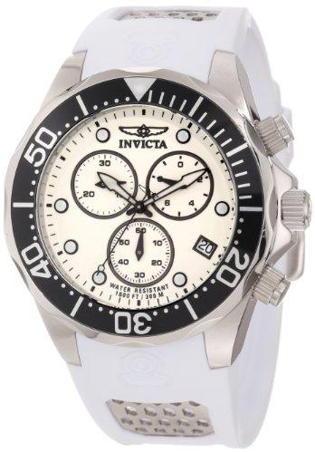 インビクタ 時計 インヴィクタ メンズ 腕時計 Invicta Men's 11480 Pro Diver Chronograph White Dial White Polyurethane Watch インビクタ 時計 インヴィクタ メンズ 腕時計 Invicta Men's 11480 Pro Diver Chronograph White Dial White Polyurethane Watch