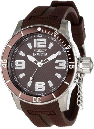インビクタ 時計 インヴィクタ メンズ 腕時計 Invicta Men's 1677 Specialty Brown Textured Dial Brown Polyurethane Watch インビクタ 時計 インヴィクタ メンズ 腕時計 Invicta Men's 1677 Specialty Brown Textured Dial Brown Polyurethane Watch