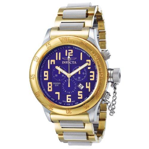 インビクタ 時計 インヴィクタ メンズ 腕時計 Invicta Men's 4160 Russian Diver Collection Offshore Chronograph Two-Tone Watch インビクタ 時計 インヴィクタ メンズ 腕時計 Invicta Men's 4160 Russian Diver Collection Offshore Chronograph Two-Tone Watch