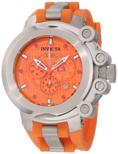 インビクタ 時計 インヴィクタ メンズ 腕時計 Invicta Men's 11665 Coalition Force Chronograph Orange Dial Orange Polyurethane Watch インビクタ 時計 インヴィクタ メンズ 腕時計 Invicta Men's 11665 Coalition Force Chronograph Orange Dial Orange Polyurethane Watch
