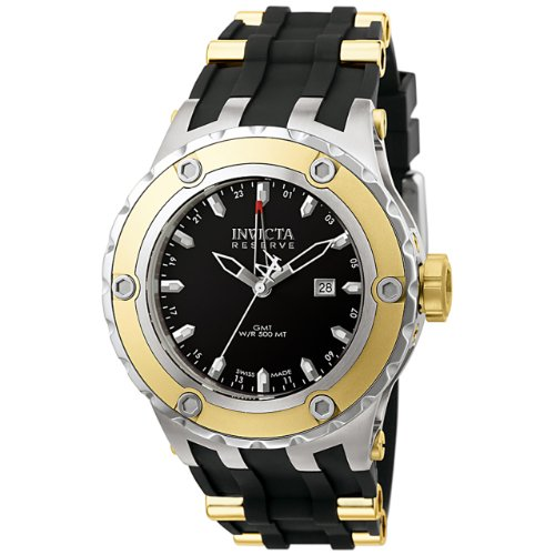 インビクタ 時計 インヴィクタ メンズ 腕時計 Invicta Men's 6178 Reserve Collection GMT 18k Gold-Plated and Stainless Steel Watch インビクタ 時計 インヴィクタ メンズ 腕時計 Invicta Men's 6178 Reserve Collection GMT 18k Gold-Plated and Stainless Steel Watch