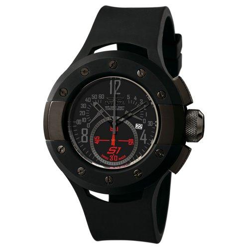 インビクタ 時計 インヴィクタ メンズ 腕時計 Invicta Men's 6464 S1 Collection Chronograph Black Ion-Plated and Black Rubber Watch インビクタ 時計 インヴィクタ メンズ 腕時計 Invicta Men's 6464 S1 Collection Chronograph Black Ion-Plated and Black Rubber Watch