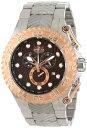 インビクタ 時計 インヴィクタ メンズ 腕時計 Invicta Men's 12940 Pro Diver Chronograph Brown Textured Dial Stainless Steel Watch