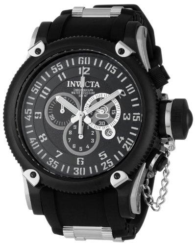 インビクタ 時計 インヴィクタ メンズ 腕時計 Invicta Men's 0517 Russian Diver Collection Chronograph Black Ion-Plated Watch インビクタ 時計 インヴィクタ メンズ 腕時計 Invicta Men's 0517 Russian Diver Collection Chronograph Black Ion-Plated Watch