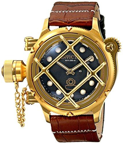 インビクタ 時計 インヴィクタ メンズ 腕時計 Invicta Men's 16244 Russian Diver Analog Display Mechanical Hand Wind Brown Watch インビクタ 時計 インヴィクタ メンズ 腕時計 Invicta Men's 16244 Russian Diver Analog Display Mechanical Hand Wind Brown Watch
