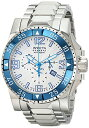 едеєе╙епе┐ ╗■╖╫ едеєеЇегепе┐ есеєе║ ╧╙╗■╖╫ Invicta Men's 10896 Excursion Reserve Chronograph Silver Tone Textured Dial Stainless Steel Watch
