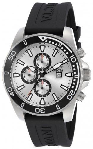 インビクタ 時計 インヴィクタ メンズ 腕時計 Invicta Men's Quartz Watch with Silver Dial Chronograph Display and Black PU Strap 10920 インビクタ 時計 インヴィクタ メンズ 腕時計 Invicta Men's Quartz Watch with Silver Dial Chronograph Display and Black PU Strap 10920真新しいです