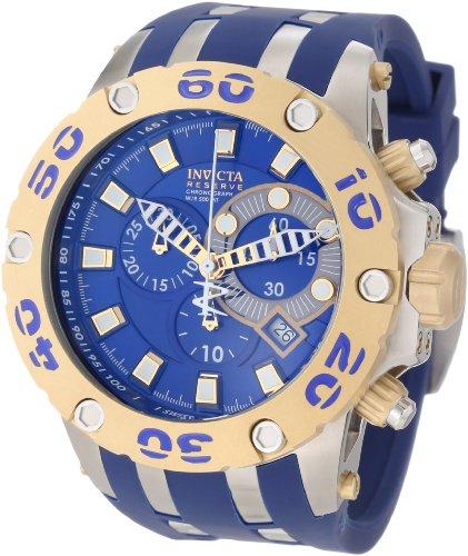 インビクタ 時計 インヴィクタ メンズ 腕時計 Invicta Men's 0909 Subaqua Reserve Chronograph Blue Dial Blue Polyurethane Watch インビクタ 時計 インヴィクタ メンズ 腕時計 Invicta Men's 0909 Subaqua Reserve Chronograph Blue Dial Blue Polyurethane Watch