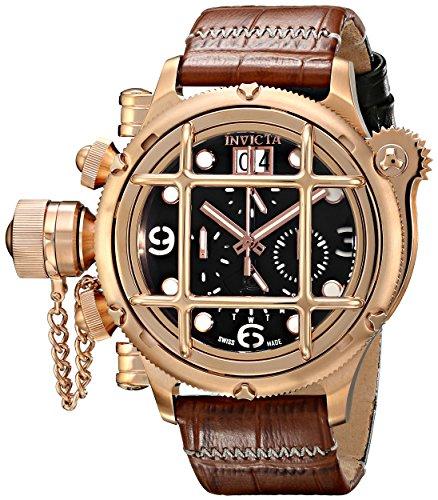 インビクタ 時計 インヴィクタ メンズ 腕時計 Invicta Men's 17340 Russian Diver Analog Display Swiss Quartz Brown Watch インビクタ 時計 インヴィクタ メンズ 腕時計 Invicta Men's 17340 Russian Diver Analog Display Swiss Quartz Brown Watch【カシオ 腕時計 評判】
